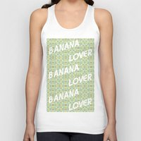 Banana Lover Unisex Tank Top