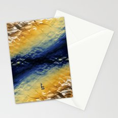 Tie-Dyed Waves Stationery Cards