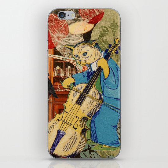 Distarcted Busker iPhone & iPod Skin
