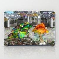 Doodlage 05 - Frog And F… iPad Case