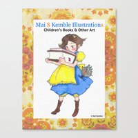 Mai Kemble Illustrations Canvas Print