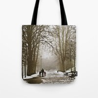 A walk through the park II Tote Bag