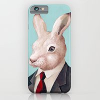 iPhone & iPod Case featuring Rabbit by Animal Crew