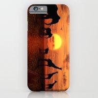 iPhone & iPod Case featuring Savanne 2 by teddynash