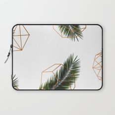 Palm + Geometry V2 #society6 #decor #buyart Laptop Sleeve