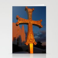 Cross Outside Of St. Bar… Stationery Cards