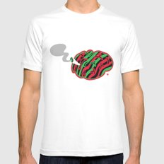The High End Theory Mens Fitted Tee White SMALL