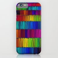 iPhone & iPod Case featuring Prismatic Rainbow (Reverse) by Morgan Ralston