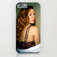 iPhone & iPod Case featuring Hattie by bobtheberto