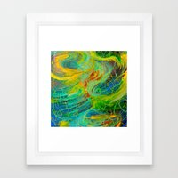 NAUTICAL GALAXY - Beauti… Framed Art Print