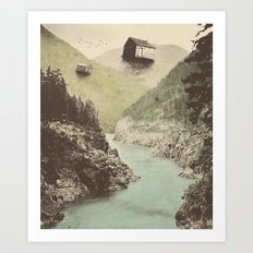 Antigravity Art Print