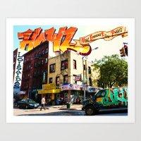 Living In Loisaida - New… Art Print