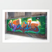 graffiti2  Art Print
