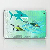 Fish Tale Laptop & iPad Skin