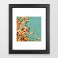 Neon Framed Art Print