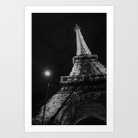 eiffel Art Prints featuring Eiffel by Envibe Photography