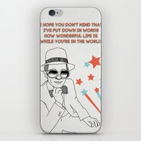 Your Song iPhone & iPod Skin