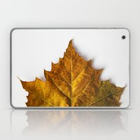 Autumn Leaf - Yellow Laptop & iPad Skin