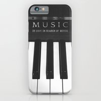 iPhone & iPod Case featuring Love In Search Of Words by Galaxy Eyes