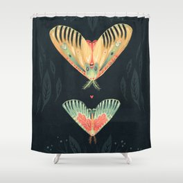 Shower Curtain - Moth Wings I - Angela Rizza