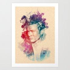 Dean James Art Print
