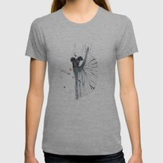 dancer*** Womens Fitted Tee Athletic Grey SMALL