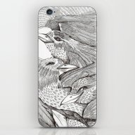 iPhone & iPod Skin featuring Icarus by Polkip