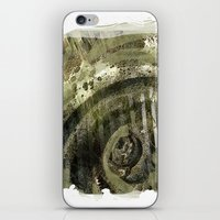 1800's Gravestone Art Series 2 iPhone & iPod Skin