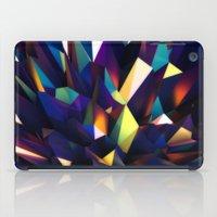 Low Iris Poly iPad Case