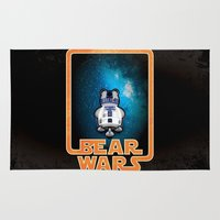 Bear Wars - GRRR2D2 Rug