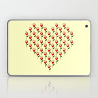 Heart in Bloom Laptop & iPad Skin