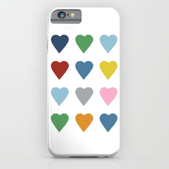 16 Hearts iPhone & iPod Case