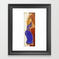 Kalai Framed Art Print
