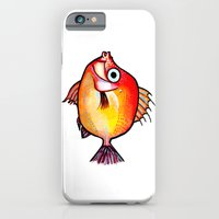 iPhone & iPod Case featuring Pesce rosso by Matteo Lotti