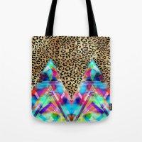 Leopard Prism {A} Tote Bag