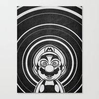 Super Trippin Bros. Mario is All Stars. Canvas Print