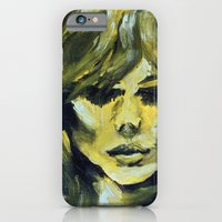 iPhone & iPod Case featuring THE YELLOW QUICK PORTRAIT by Maud Villers