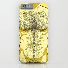 Hairy Torso - Yellow iPhone 6s Slim Case