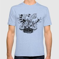 Tandem électrique Mens Fitted Tee Tri-Blue SMALL