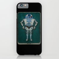 iPhone Cases featuring R2 3PO by eyejacker