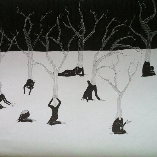 I am a tree Art Print
