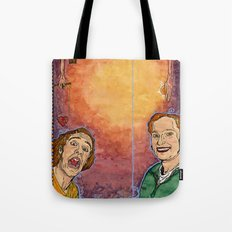 Us And Them (aka. Lovers) Tote Bag