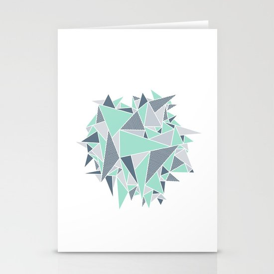 EXPLOSION-TRIANGLE Stationery Card
