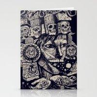 Mictecacihuatl 2 Stationery Cards