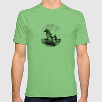 Ghostly Wreck Mens Fitted Tee Grass SMALL