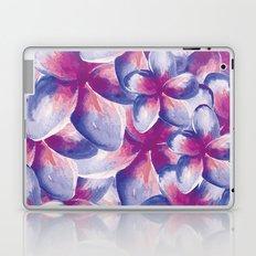 Purple Plumeria Floral Watercolor Laptop & iPad Skin