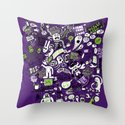 Print Brigade Collage Throw Pillow