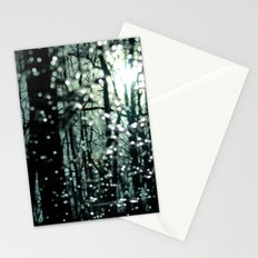 Blue Burns the Twilight Stationery Cards