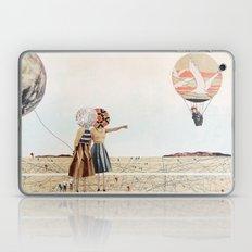trip to the moon, collage Laptop & iPad Skin
