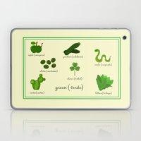 Colors: Green (Los Color… Laptop & iPad Skin
